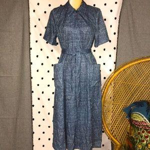 Vintage Femme Of Dallas Day Dress